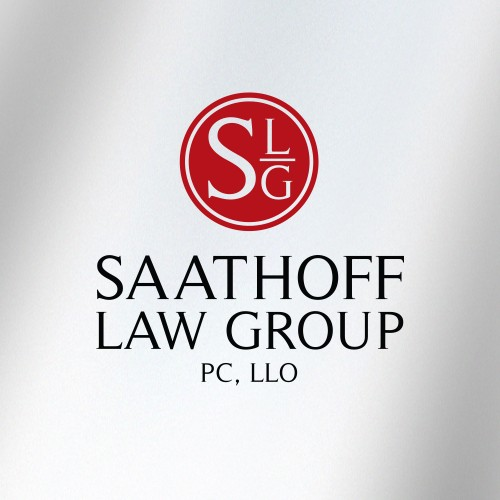 Identity Design example by Mosaic Visuals Design in Omaha, NE for Saathoff Law Group PC, LLO