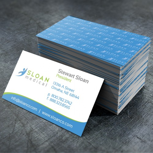 Sloan Medical print design example by Mosaic Visuals Design in Omaha, NE