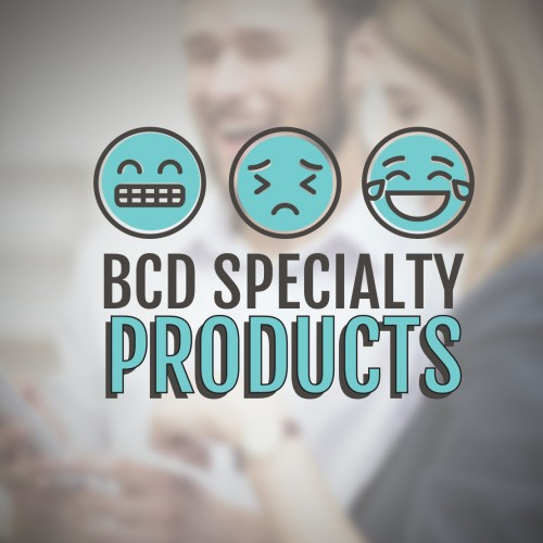 Identity Design example by Mosaic Visuals Design in Omaha, NE for BCD Specialty Products