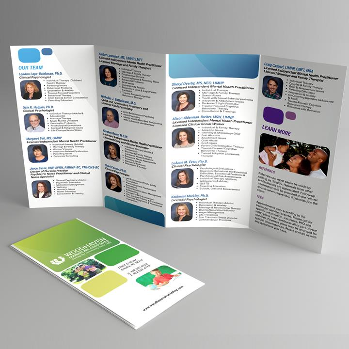 Woodhaven Counseling Associates – Mosaic Visuals Design
