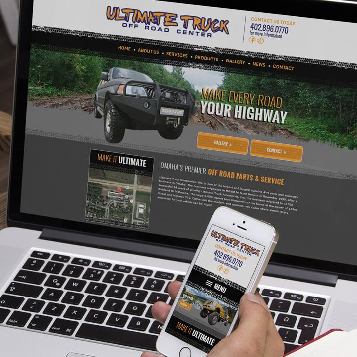 Ultimate Truck Offroad – Mosaic Visuals Design