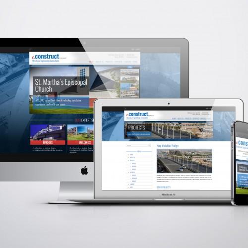 Omaha Website Design by Mosaic VIsuals Design - eConstruct